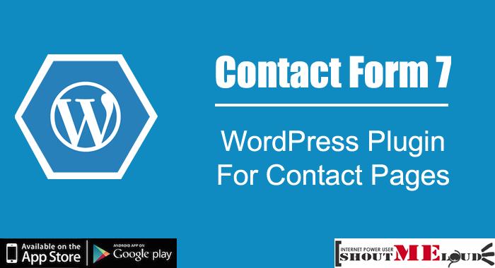 Tạo form liên hệ bằng Contact form 7