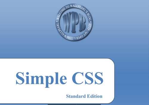 Tìm hiểu CSS đơn giản
