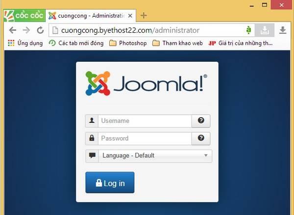 cập nhật bài viết lên Joomla