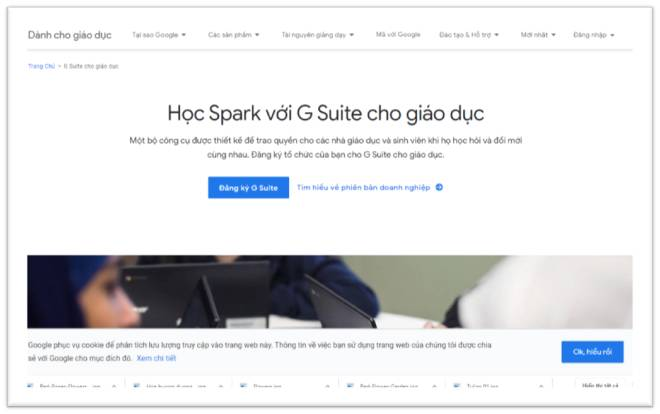 Học trực tuyến google classroom