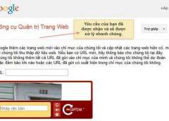 Đăng ký website lên các công cụ tìm kiếm Google, Yahoo, Bing…