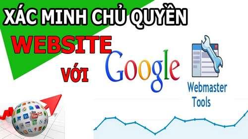 Xác minh website của bạn với Google bằng thẻ meta