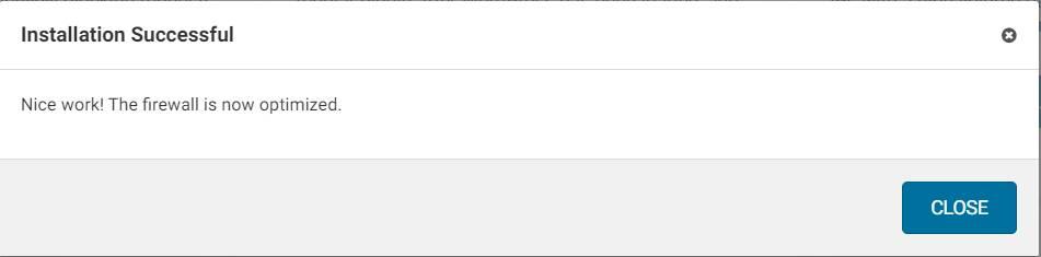 Thông báo không thể hoàn tất Các thiết lập chi tiết wordfence security